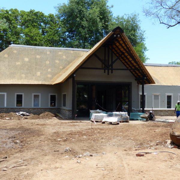 What it takes to build a safari lodge…